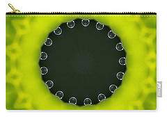 Encircled Waterlens Dew Drops Carry-all Pouch