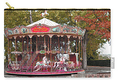 Carry-all Pouch featuring the photograph End Of A Season by Victoria Harrington
