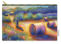 End Of A Well Spent Day Carry-all Pouch by Retta Stephenson