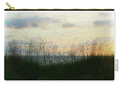 Carry-all Pouch featuring the photograph End Of Day At Pentwater by Michelle Calkins