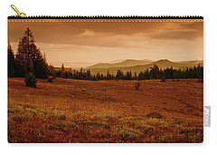 Carry-all Pouch featuring the photograph End Of Day by Frank Wilson