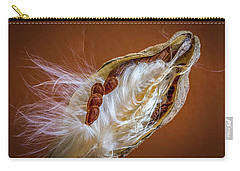 Carry-all Pouch featuring the photograph End Of Season by Ronald Santini
