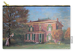 Carry-all Pouch featuring the painting End Of Summer by Nancy Lee Moran