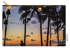 End Of The Beutiful Day.hawaii Carry-all Pouch