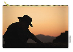Carry-all Pouch featuring the photograph End Of The Day by Lynn Geoffroy