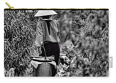 End Of The Day Vietnamese Woman  Carry-all Pouch