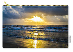 Carry-all Pouch featuring the photograph End Of The Season Padre 29 by Mez