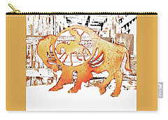 Carry-all Pouch featuring the photograph End Of The Trail by Larry Campbell