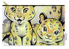 Endangered Animal Amur Leopard Carry-all Pouch