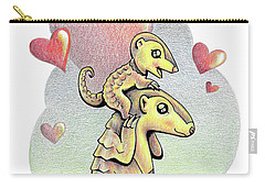 Endangered Animal Pangolin Carry-all Pouch