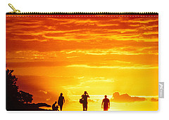 Carry-all Pouch featuring the photograph Endless Fiju by T Brian Jones
