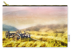 Carry-all Pouch featuring the painting Enduring Courage by Greg Collins