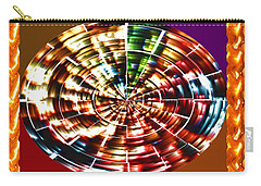 Energy Aura Cleaning Wheel In Motion Yoga Meditation Mandala By Navinjoshi At Fineartamerica.com Carry-all Pouch