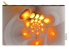 Carry-all Pouch featuring the digital art Energy Source by Anastasiya Malakhova