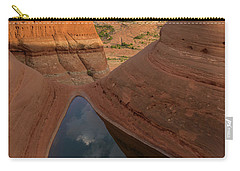 Carry-all Pouch featuring the photograph Engaging Sunset by Dustin LeFevre
