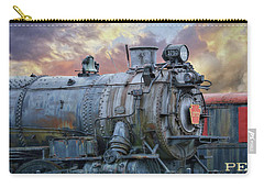 Carry-all Pouch featuring the photograph Engine 3750 by Lori Deiter