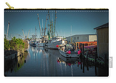 Englehardt,nc Fishing Town Carry-all Pouch