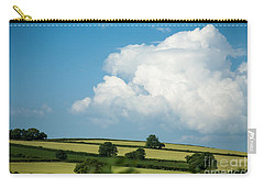 Carry-all Pouch featuring the photograph English Countryside In Summer by Jan Bickerton