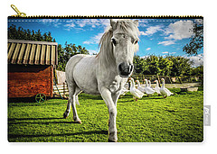 English Gypsy Horse Carry-all Pouch