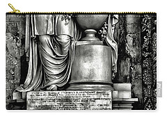 English Relief Sculpture Carry-all Pouch
