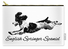 English Springer Spaniel Carry-all Pouch