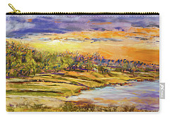 Enid Shore Sunrise Carry-all Pouch by Barry Jones