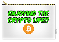 Enjoy The Crypto Life #2 Carry-all Pouch