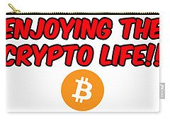 Enjoy The Crypto Life #3 Carry-all Pouch