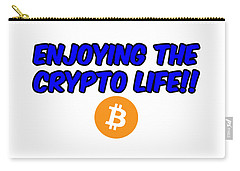 Enjoy The Crypto Life #4 Carry-all Pouch