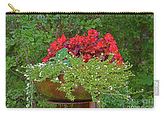 Enjoy The Garden Carry-all Pouch