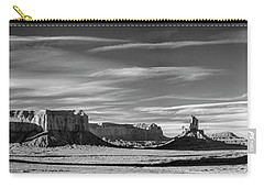 Carry-all Pouch featuring the photograph Enjoying The Calm by Jon Glaser