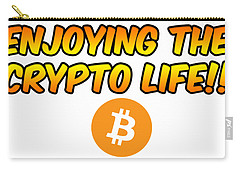 Enjoying The Crypto Life#1 Carry-all Pouch
