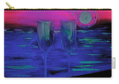 Enjoying The View Painting By Lisa Kaiser Carry-all Pouch