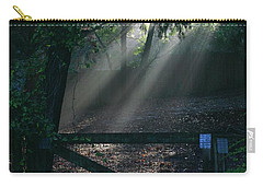 Carry-all Pouch featuring the photograph Enlighten by Lori Mellen-Pagliaro
