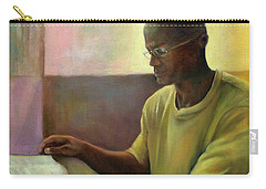 Carry-all Pouch featuring the painting Enlightenment by Marlene Book