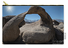 Carry-all Pouch featuring the photograph Enlightning by Sandra Bronstein