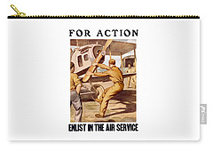 Enlist In The Air Service Carry-all Pouch
