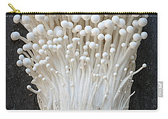 Enoki Mushrooms Carry-all Pouch by Elena Elisseeva