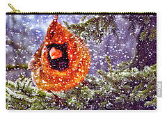 Enough Of This White Stuff Carry-all Pouch by Diane Schuster