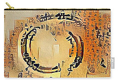 Enso Calligraphy  Carry-all Pouch
