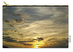 Carry-all Pouch featuring the photograph Enter The Evening by Robert Knight