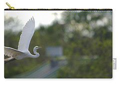 Enter The Great Egret 4 Digitalart Carry-all Pouch