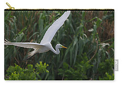Enter The Great Egret 5 Digitalart Carry-all Pouch