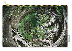 Carry-all Pouch featuring the photograph Enter The Root Cellar by Gary Smith