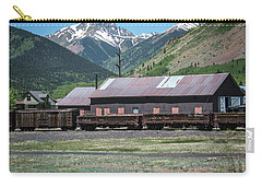 Carry-all Pouch featuring the photograph Entering Silverton by Colleen Coccia