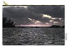 Entering The Bermuda Triangle Carry-all Pouch by Luther Fine Art
