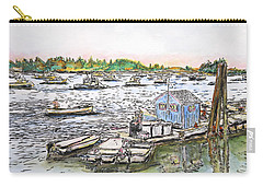 Entering Vinal Haven, Maine Carry-all Pouch