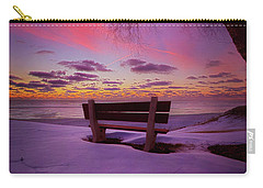 Carry-all Pouch featuring the photograph Enters The Unguarded Heart by Phil Koch