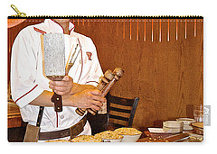 Entertaining Chef At Benihana In Monterey-california Carry-all Pouch