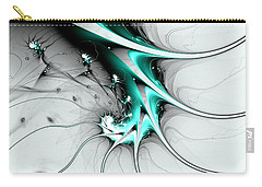 Carry-all Pouch featuring the digital art Entity by Anastasiya Malakhova